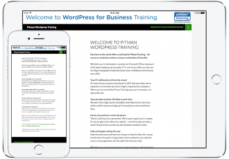 Pitman WordPress Training